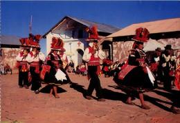 PERU. PUNO. DANZA DE LOS SIKURIS, ISLA TAQUILE - SIKURI OR PAN FLUTE DANCERS IN MAGIC TAQUILE. (497) - Perú