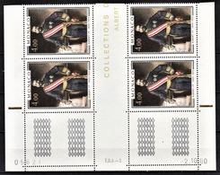 MONACO 1980  N°1245 / BLOC DE 4 TP COIN DE FEUILLE / DATE - NEUFS** - Nuevos