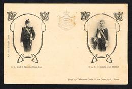 Monarquia (Portugal) - O Principe Dom Luiz - O Infante Dom Manuel - Autres