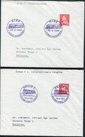 1967-89 Denmark X 10 Railway / Train Illustrated Postmark Covers. - Lettere