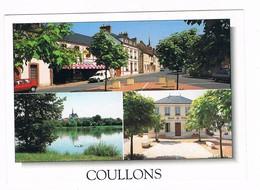COULLONS  45  Multi Vues Avec 3 Photos - Otros Municipios
