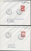 1978-84 Denmark X 6 Billund Legoland Postmark Covers. - Covers & Documents