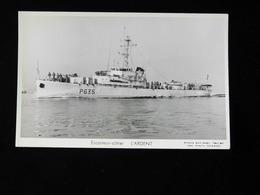 ESCORTEUR COTIER   L'ARDENT - Warships
