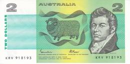 BILLETE DE AUSTRALIA DE 2 DOLLARS DEL AÑO 1985 SIN CIRCULAR   (BANKNOTE) UNCIRCULATED - Emisiones Gubernamentales Decimales 1966-...