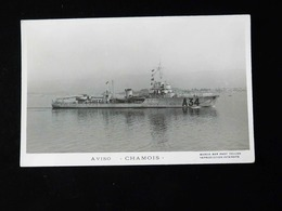 AVISO    CHAMOIS - Warships