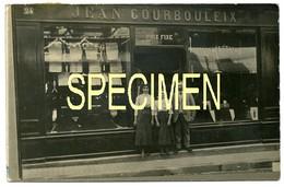 AUBUSSON. Maison COURBOULEIX. Carte-Photo Rare!!! - Aubusson
