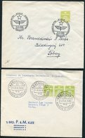 1956/58 Denmark X 2 Esperanto Covers - Denmark