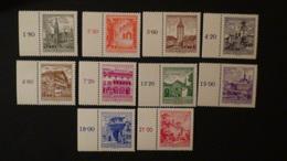 Austria - 1962 - Mi:AT 1111-20 - Yt:AT 950-9**MNH - Look Scan - 1945-.... 2. Republik