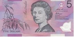 BILLETE DE AUSTRALIA DE 5 DOLLARS DEL AÑO 1995 DE POLIMERO CALIDAD EBC (XF) (BANKNOTE) - Emissions Gouvernementales Décimales 1966-...