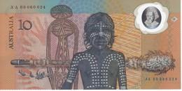 BILLETE DE AUSTRALIA DE 10 DOLLARS DEL AÑO 1988 DE POLIMERO SIN CIRCULAR - UNCIRCULATED (BANKNOTE) - Emissioni Governative Decimali 1966-...