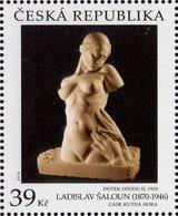 Czech Republic - 2019 - Art On Stamps - Ladislav Saloun - Mint Stamp - Repubblica Ceca