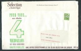 Enveloppe Du Reader's Digest Avec Son Mailing Complet Affranchie Par Preo Yvert N° 120 ( 2è Echelon )  Modb20301 - 1953-1960
