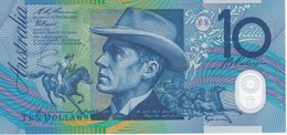 BILLETE DE AUSTRALIA DE 10 DOLLARS DEL AÑO 1993 DE POLIMERO CALIDAD EBC (XF) (BANKNOTE) - Emissions Gouvernementales Décimales 1966-...