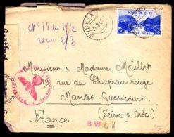 STO En Norvège - Censure Militaire - OVRE-ARDAL Du 21/02/44 - Lettres & Documents