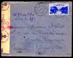 STO En Norvège - Censure Militaire - OVRE-ARDAL Du 24/02/44 - Lettres & Documents