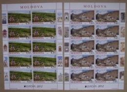 Moldawien       Europa  Cept    Besuchen Sie Europa  2012  ** - Europa-CEPT