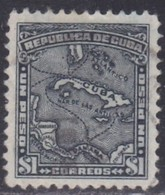 Cuba, Scott #262, Used, Map, Issued 1914 - Cuba