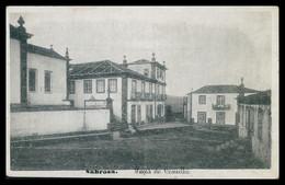 SABROSA -MUNICIPIOS - Paços Do Concelho. ( Phototypia A. Pinheiro) Carte Postale - Vila Real