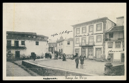 SABROSA -Largo Da Praça. ( Phototypia A. Pinheiro) Carte Postale - Vila Real