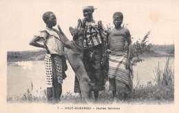 Jeunes Femmes Et Fillettes Haut OUBANGUI  (Congo Français)    Carte Vierge  (scan Recto-verso) Ref 0970 - Congo Français - Autres