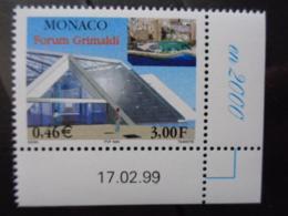 MONACO 1999 Y&T N° 2202 COIN DATE ** - FORUM GRIMALDI - Ungebraucht
