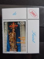 MONACO 2002 Y&T N° 2380 ** - 1700e ANNIV. DU MARTYRE DE ST GEORGES - Monaco