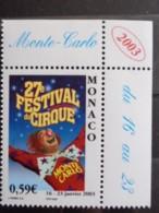 MONACO 2003 Y&T N° 2382 ** - 27e FESTIVAL INTERN. DU CIRQUE DE MONTE CARLO - Monaco