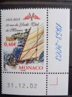 MONACO 2003 Y&T N° 2384 ** - CINQUANTENAIRE DU YACHT CLUB DE MONACO - Unused Stamps
