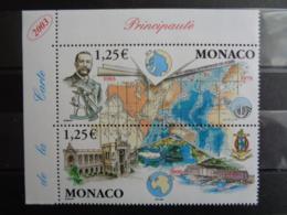 MONACO 2003 Y&T N° 2391 & 2392 SE TENANT ** - CENTENAIRE DE LA GEBCO - Monaco