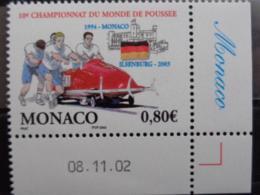 MONACO 2003 Y&T N° 2385 ** - 10e CHAMPIONNATDU MONDE DE POUSSEE - Unused Stamps