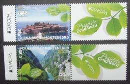 Montenegro   Zierfeld   Europa  Cept    Besuchen Sie Europa  2012  ** - Europa-CEPT