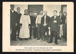 LISBOA (Portugal) - Revolução De 5 De Outubro De 1910 - Rotunda Da Avenida - Jesuitas Disfarçados, Prisioneiros - Other