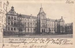 Gruss Aus BOCHUM , Germany , 1902 , Gymnasium - Bochum