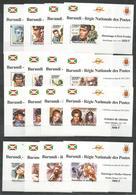 16 Stamps BURUNDI - MNH - Famous People - Presley - Monroe - Elvis Presley