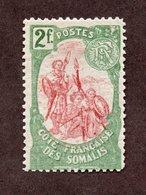 Cote Des Somalis N°51 N* TB  Cote 60 Euros !!!RARE - Unused Stamps