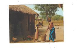 AFRIQUE EN COULEURS  PREPARATION  DU REPAS     **** A SAISIR   ***** - Postales