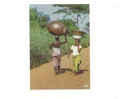 AFRIQUE EN COULEURS  RENCONTRE SUR LA ROUTE  **** A SAISIR   ***** - Postales