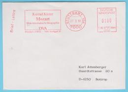 J.M. 30 - N° 26 - E.M.A.- Allemagne - Musique - Compositeur - Mozart - Musique