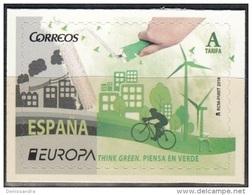 España 2016 Europa CEPT Pensez En Vert Neuf ** - 1931-Aujourd'hui: II. République - ....Juan Carlos I