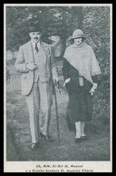 PORTUGAL-MONARQUIA-SS.MM.El Rei D.Manuel E A Rainha Senhora D.Augusta Vitoria(Ed.Juv.Monar.Conservadoras)carte Postale - Portugal