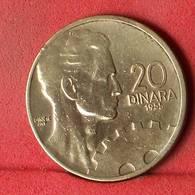 YUGOSLAVIA 20 DINARA 1955 -    KM# 34 - (Nº32438) - Jugoslawien