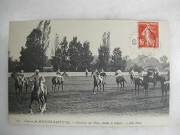 Courses De MAISONS LAFFITTE - Chevaux Sur Piste - Avant Le Départ (très Animée) - Horse Show