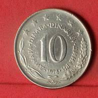 YUGOSLAVIA 10 DINARA 1976 -    KM# 62 - (Nº32439) - Yugoslavia