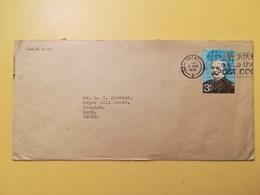 1974 BUSTA GRAN BRETAGNA GREAT BRITAIN BOLLO ESPLORATORI ANNULLO GWENT OBLITERE' ETICHETTA - 1952-.... (Elisabetta II)