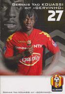 FOOTBALL  CP  GERVINHO     LE MANS 72 - Football