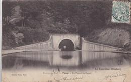 CARTE POSTALE ANCIENNE  54 FOUG LE TUNNEL DU CANAL  EDITIONS / LIBRAIRIE OURY N° - Foug