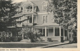 Knowlton Inn, Knowlton, Quebec - Quebec