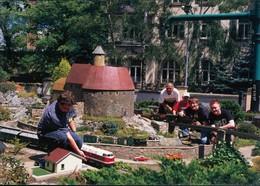 Ansichtskarte Werdau Modelleisenbahn - Großes Gartenbahntreffen 1995 - Werdau