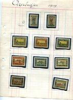 AZERBAIDJAN-N°1 NON EMIS+série N°18à 27 Neufs Sous Pochettes Papier D'époque -issu De Collection - Azerbaïdjan