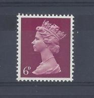 """GB..QUEEN ELIZABETH II.(1952-NOW)..."""" MACHINS.."""".......6d....SG736Eb......MNH... - 1952-.... (Elizabeth II)"""